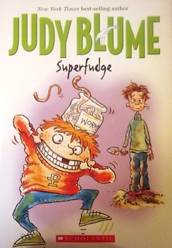 Guided Reading Comprehension Packet - Superfudge by Judy Blume