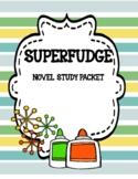 Superfudge Novel Study  Print and Paperless