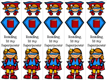 Supergirls bookmarks 2