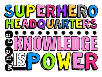 Superhere Sign