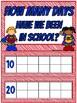 Superhero | 180 Days of School Count Ten Frame Display