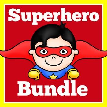 Superhero Theme Classroom Bundle   Super Hero Theme Classr