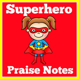 Superhero Rewards | Super Hero Rewards | Praise Notes