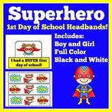 First Day of School Craft  | Preschool Kindergarten 1st Gr
