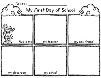 First Day of School - Superhero