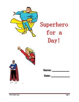 """Superhero"" 5 Paragraph Essay - Scaffolded Writing Program"