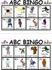 Superhero ABC Bingo