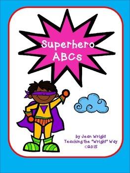 Superhero ABC Set