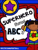 Superhero ABC Set