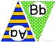 Superhero ABC Word Wall Pennant Banner