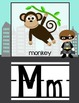 Superhero ABC's *Cute Alphabet line with phonics pictures