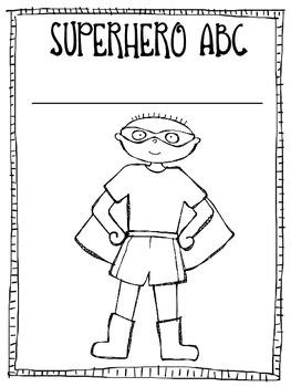 Superhero ABCs! - Free Alphabet pages