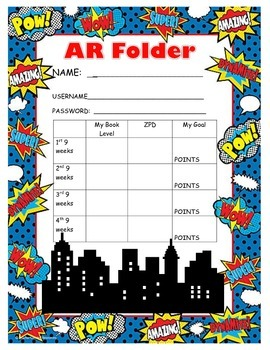 Superhero AR folder