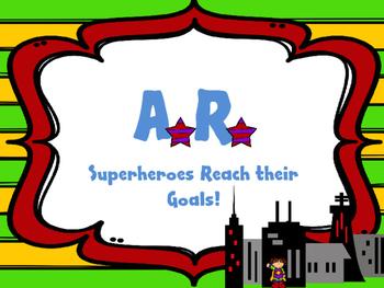 Superhero Accelerated Reader Wall