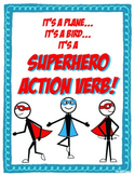 Superhero Action Verb Packet