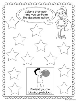 Superhero Actions for Apraxia: A Fun Game to Target Motor Planning Skills