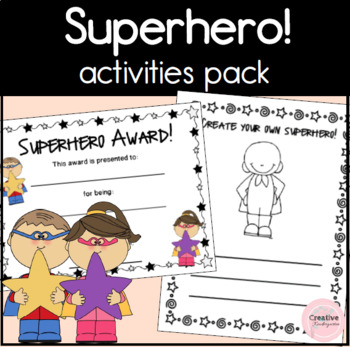 Superhero Activity Pack