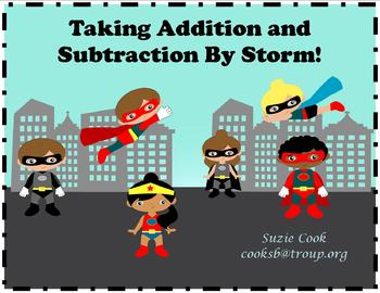 Superhero Addition and Subtraction 10 Day Plan **Common Core**