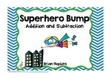 Superhero Addition and Subtraction Bump
