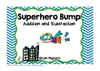 Superhero Addition and Subtraction Bump