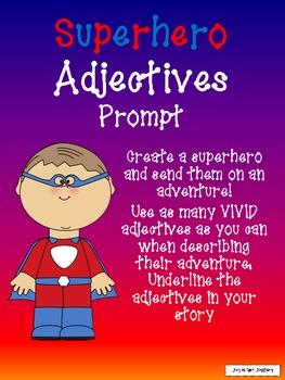 Superhero Adjective Adventure Sampler