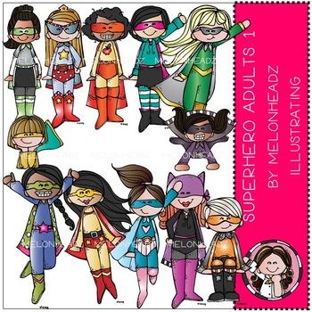 Superhero Adults 1 by Melonheadz