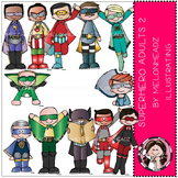 Superhero clip art - Adults 2 - COMBO PACK- by Melonheadz