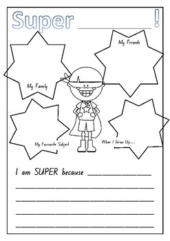 Superhero All About Me!