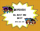 Superhero All About Me Scoot Activity