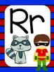 Superhero Alphabet