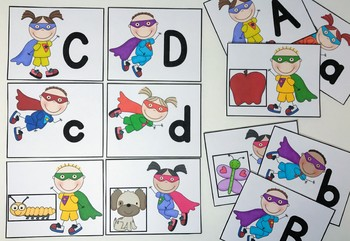 Superhero Alphabet Activities