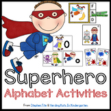Superhero Alphabet Activities
