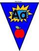Superhero Alphabet Banner