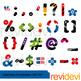 Superhero Alphabet Punctuation Clip Art Bundle