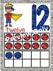 Superhero Alphabet and Number Posters - Bundle