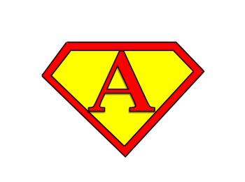 Superhero Alphabet and Student Names (Editable)