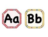 Superhero Alphabet (no clip art background)