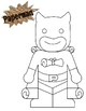 Superhero Art Tool Coloring Pages