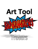 Superhero Art Tools Colored Tracers