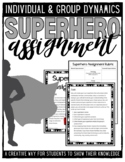Superhero Assignment