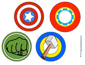 Superhero Avenger Party Printable