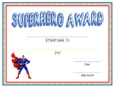 Superhero Award
