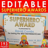 Superhero Awards / Certificates