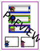 Superhero *BRIGHTS* Nametags and Nameplates
