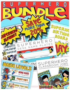 Superhero BUNDLE ***SAVE***