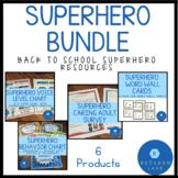 Superhero Back to School Bundle for Superhero Beginning of