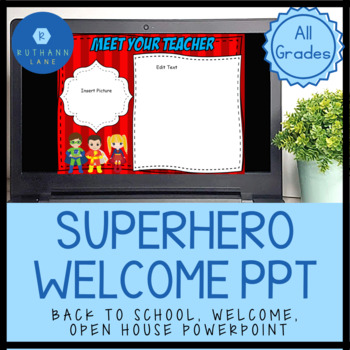 superhero back to school open house night parent night