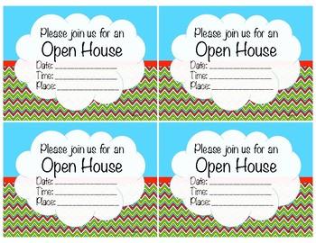 Superhero Back to School Night/Open House/ Meet the Teacher Invitations FREEBIE