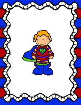 Superhero Backgrounds for Pic Collage