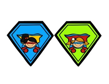 Superhero Banner & Student Tags {Spanish}